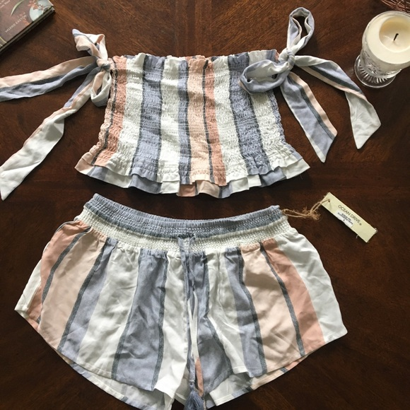 Ocean Drive Other - Two Piece Tube Top and Shorts